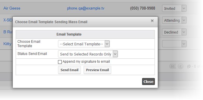 Quick2Email - Send emails quickly in SugarCRM