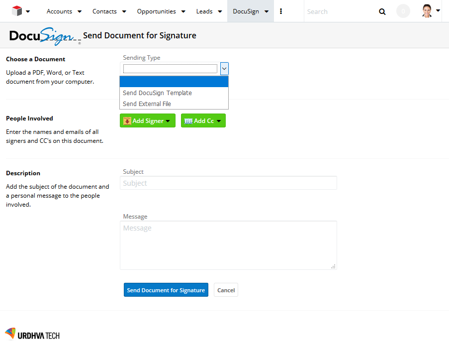 DocuSign for SugarCRM