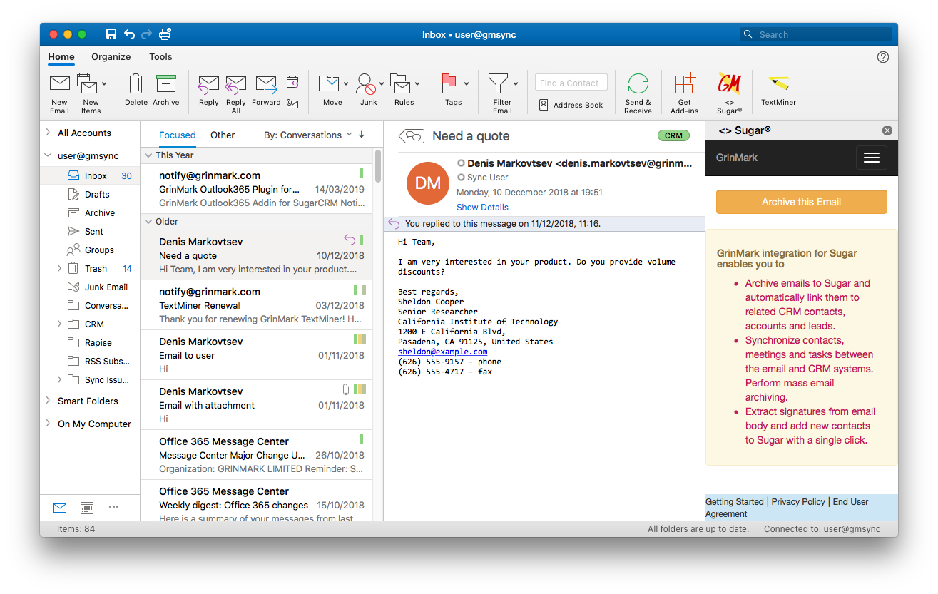 Outlook Mac Before Email Archiving