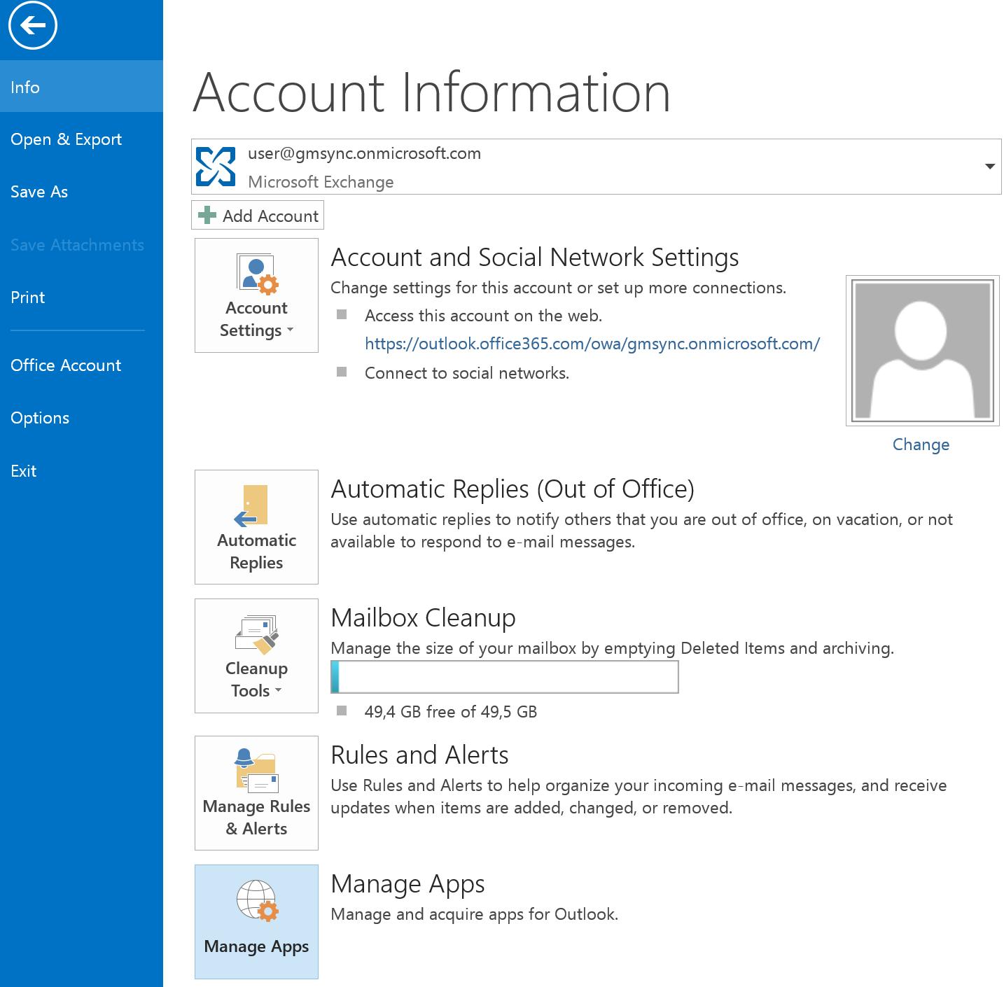 Single User Installation - GrinMark Outlook 365 Plugin<br/>for Sugar ...