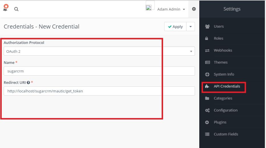 Mautic - API Credentials.jpg