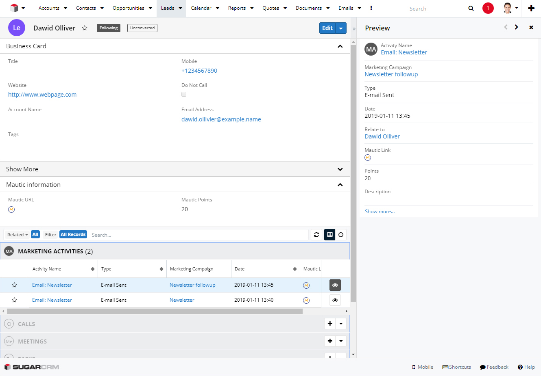 wo-way merge of information