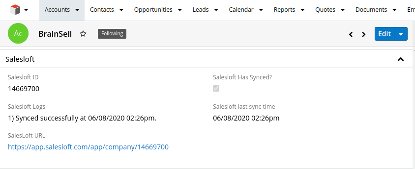 SalesLoft Sync Status.png