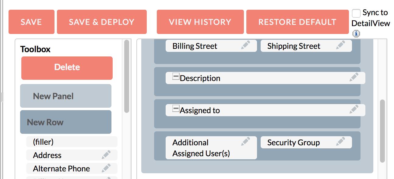 Studio - Additional Users Field