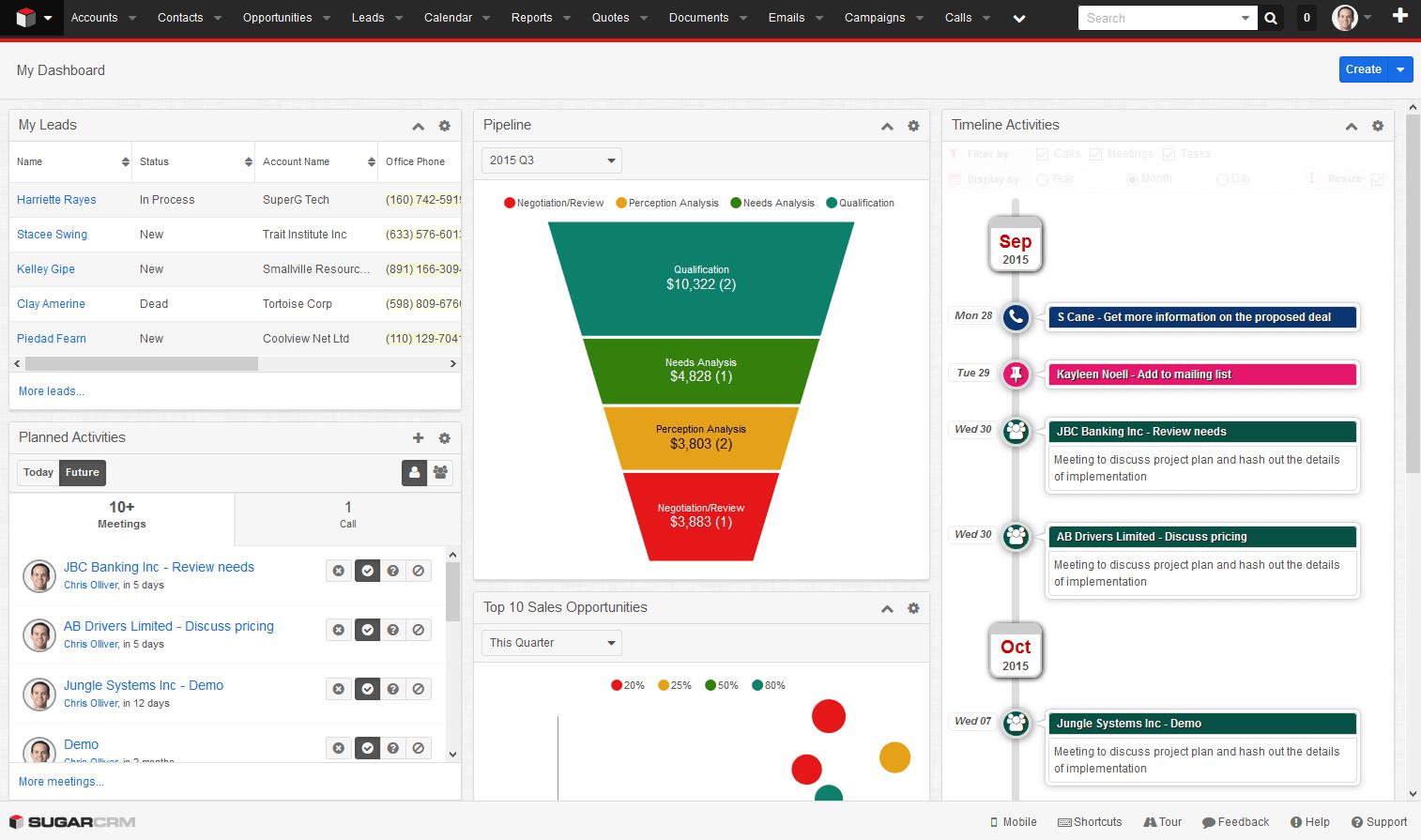 timeline-dashboard