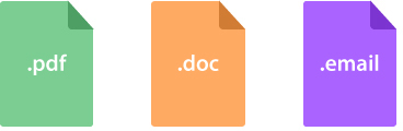 Document Creator: File Formats