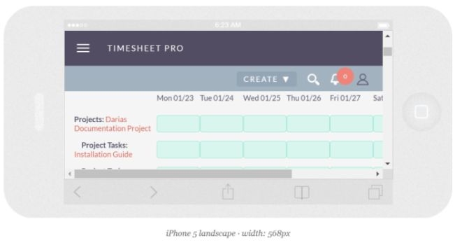 Timesheet View - iPhone.JPG
