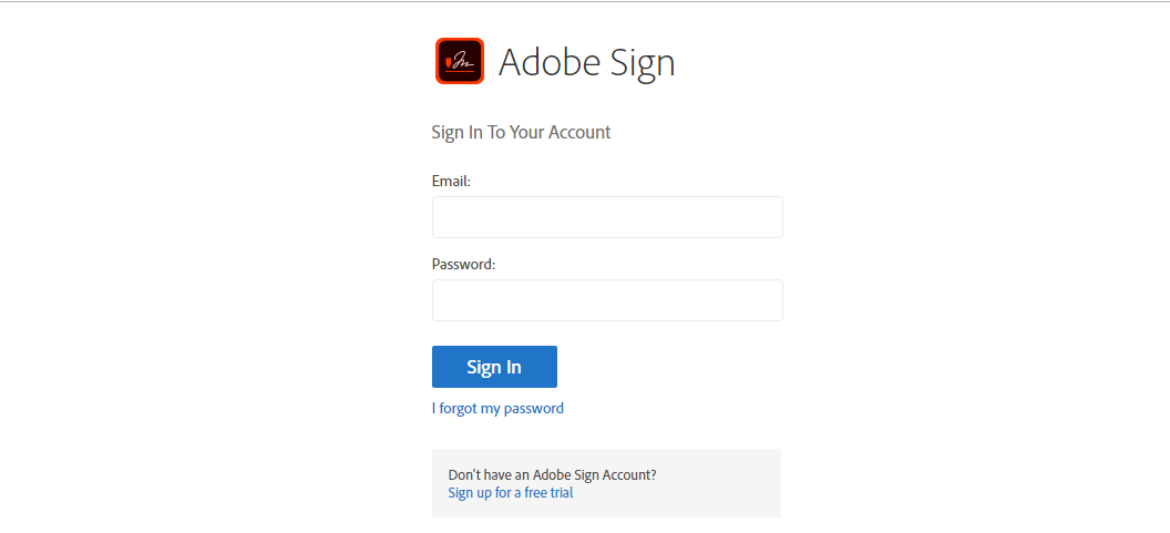SugarAdobeSign API Configuration