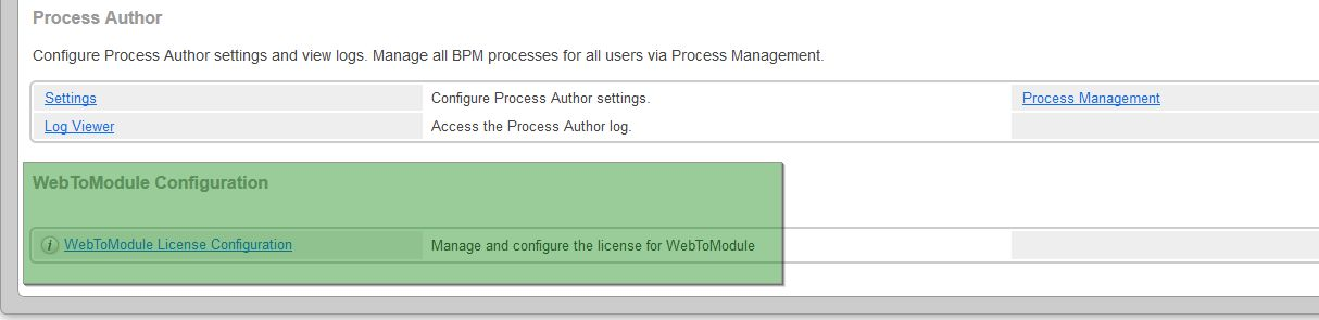 Access License Link
