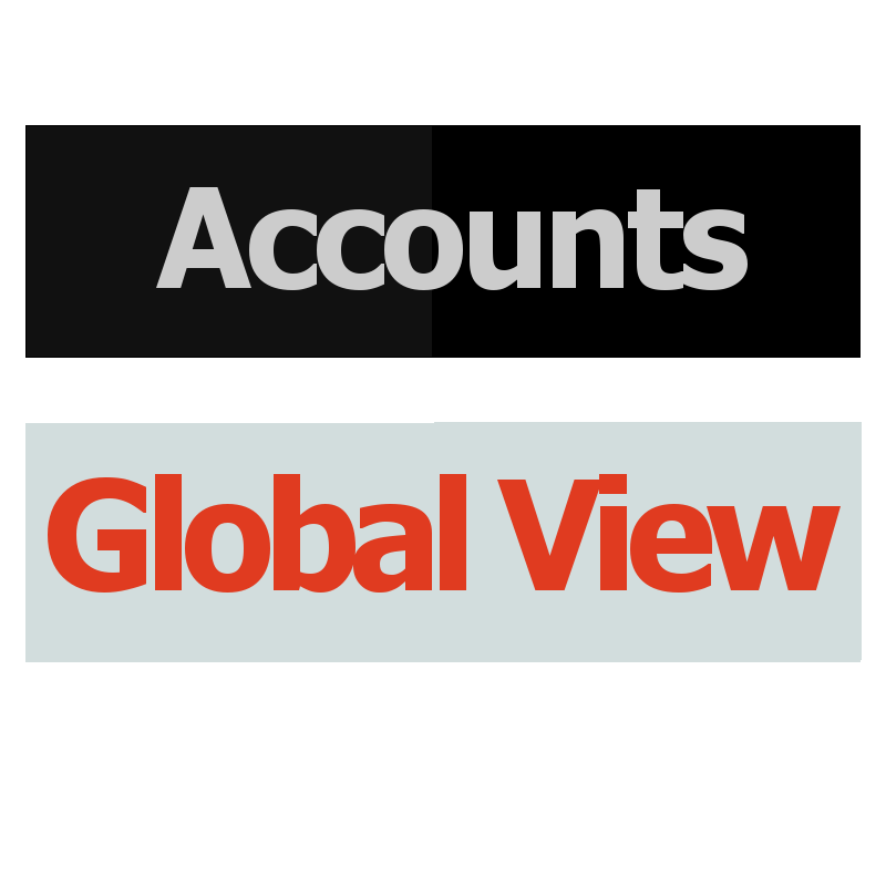 Accounts Global View Logo