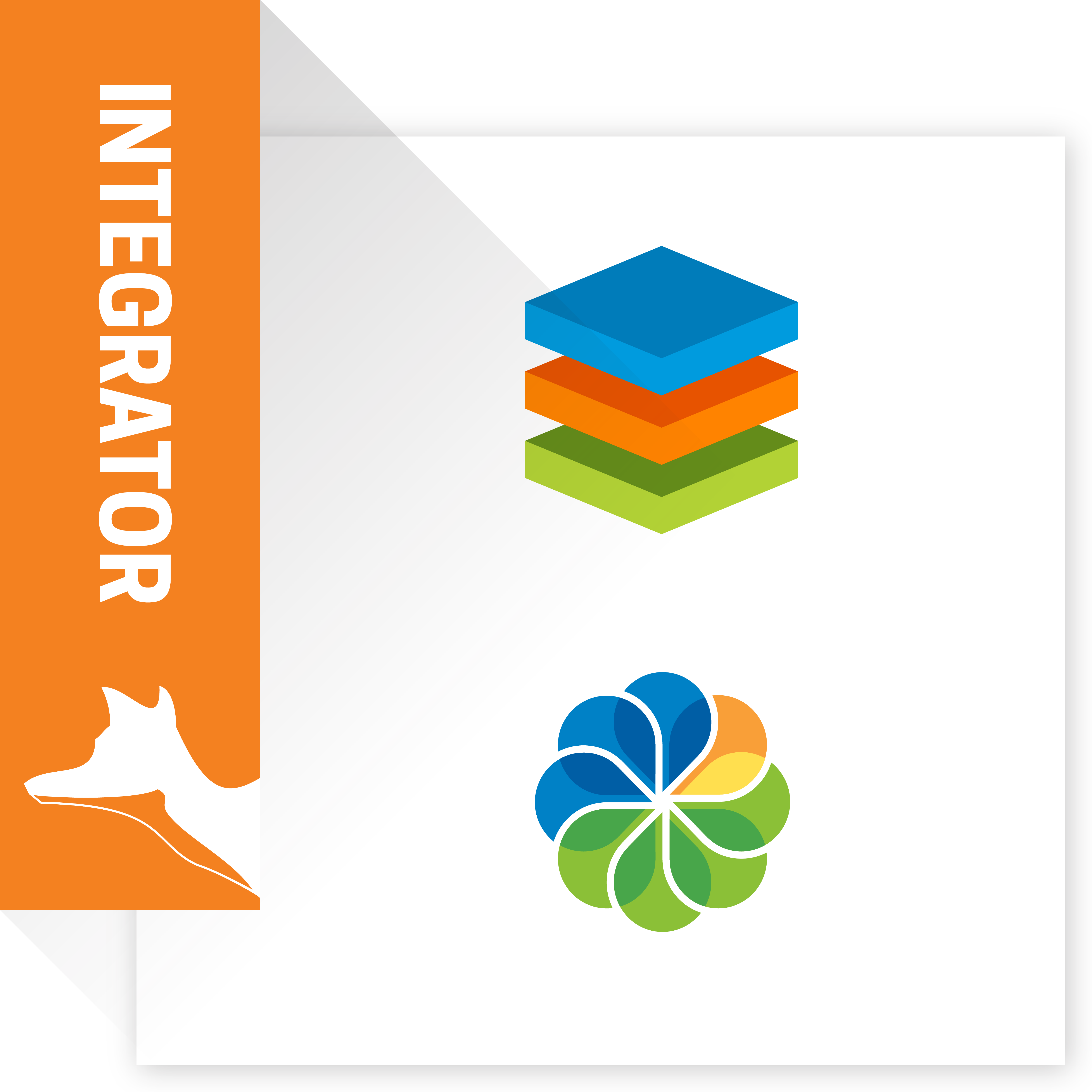SugarCRM & Alfresco Integrator Logo