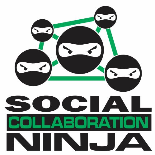 CRM Social Collaboration Ninja Logo