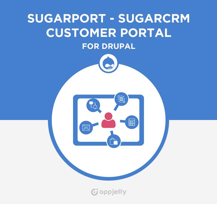SugarPort - SugarCRM Customer Portal for Drupal Logo