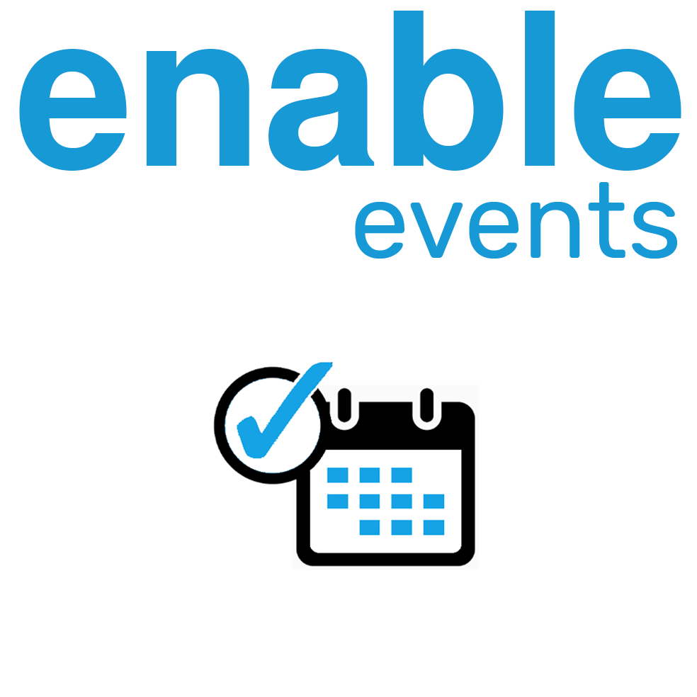 enable events Logo