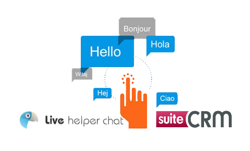 Live Helper Chat Tool CRM Integration Logo
