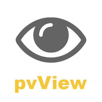 pvView - Instant previews a click away Logo