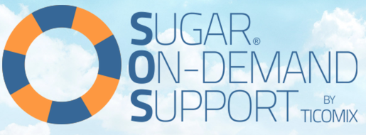 Sugar OnDemand Support (SOS) Logo