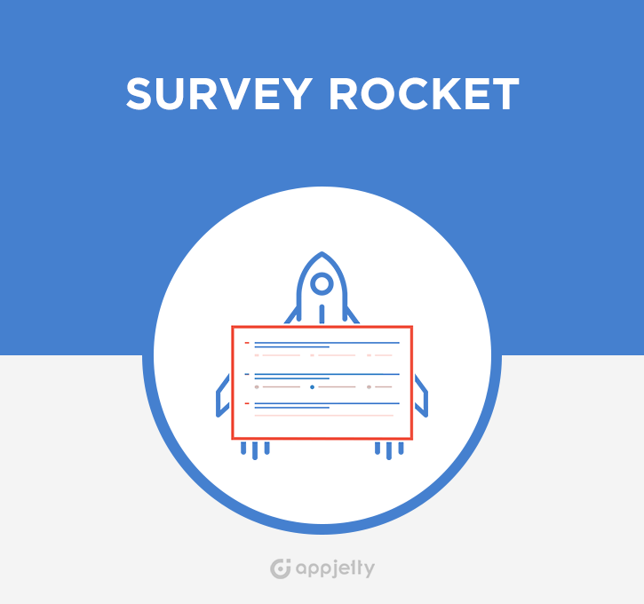 SugarCRM Survey Rocket Logo