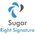 SugarRightSignature Logo