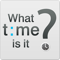 What Time Is It? Logo
