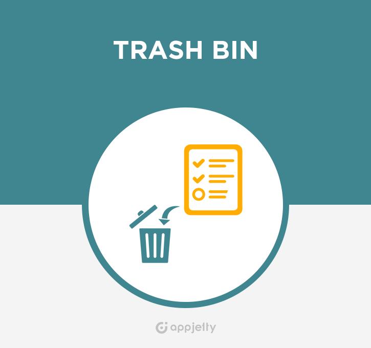 Trash Bin Logo