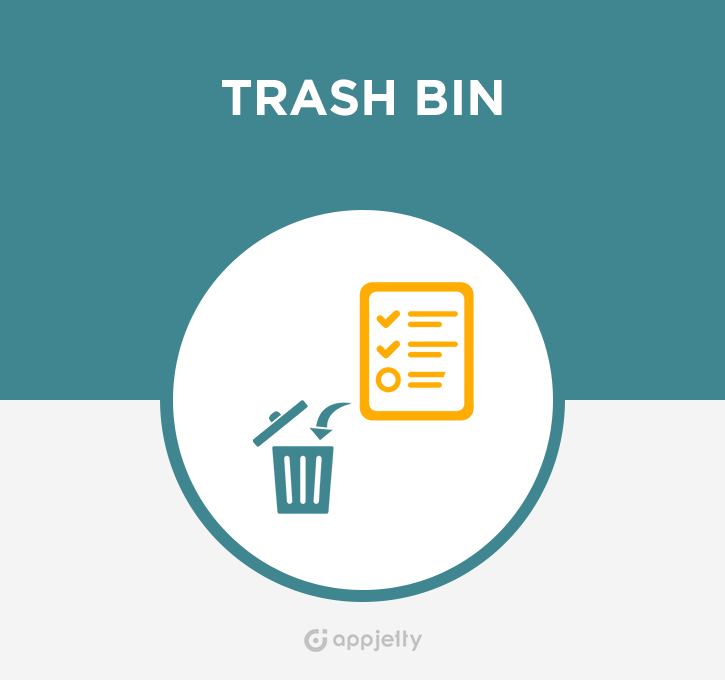 Trash Bin For SugarCRM