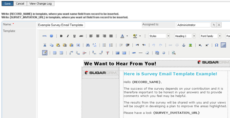 Modele mail questionnaire document online for Customer survey email template