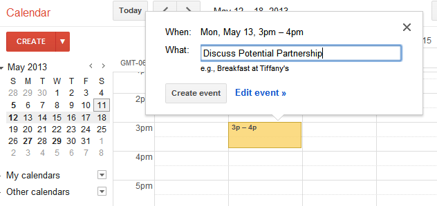 Use gmail and google apps with sugarcrm google calendar stopboris Gallery