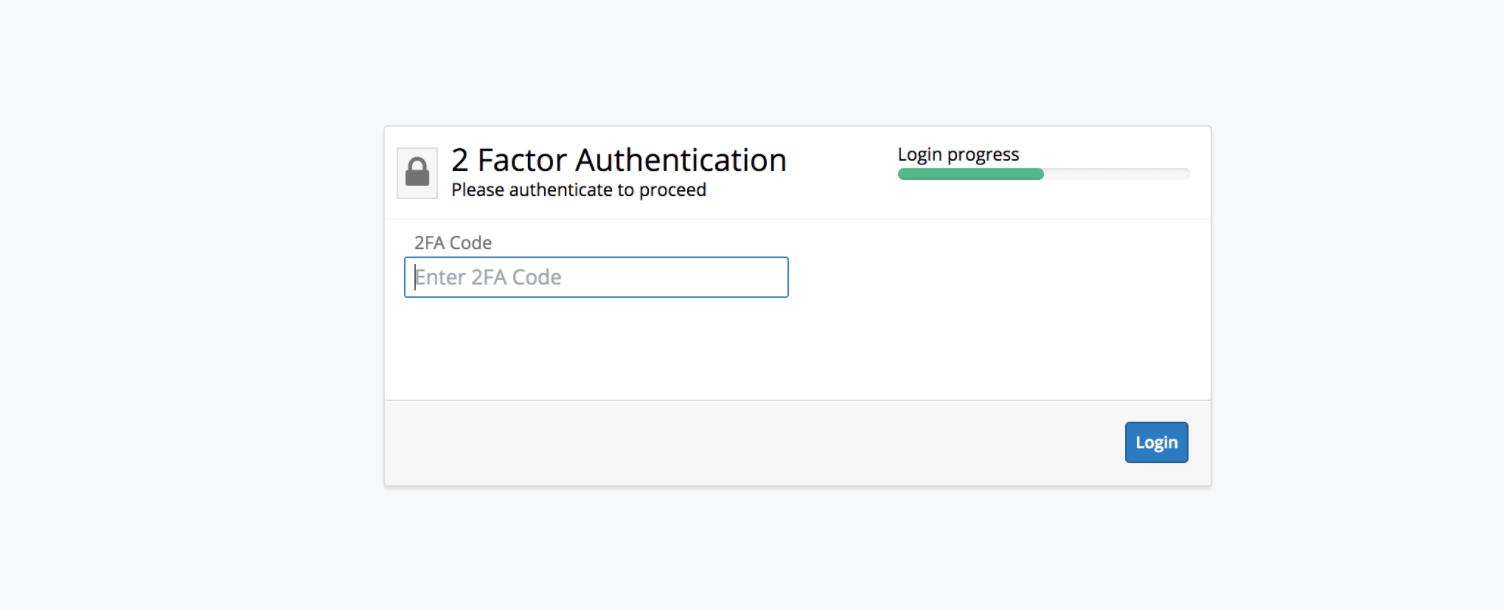 Sugar 2FA for SugarCRM auth code