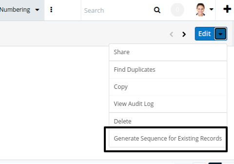 Unique ID Generator add-on for SugarCRM works with existing records